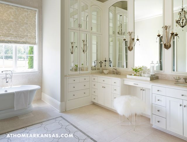 Harper Howey Interiors Glamorous Monochromatic White