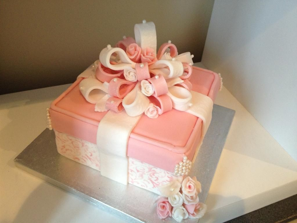 Cake Box Decorating Ideas Classy Cake Decorating Ideas  Project On Craftsy Pink Damask Gift Box Review