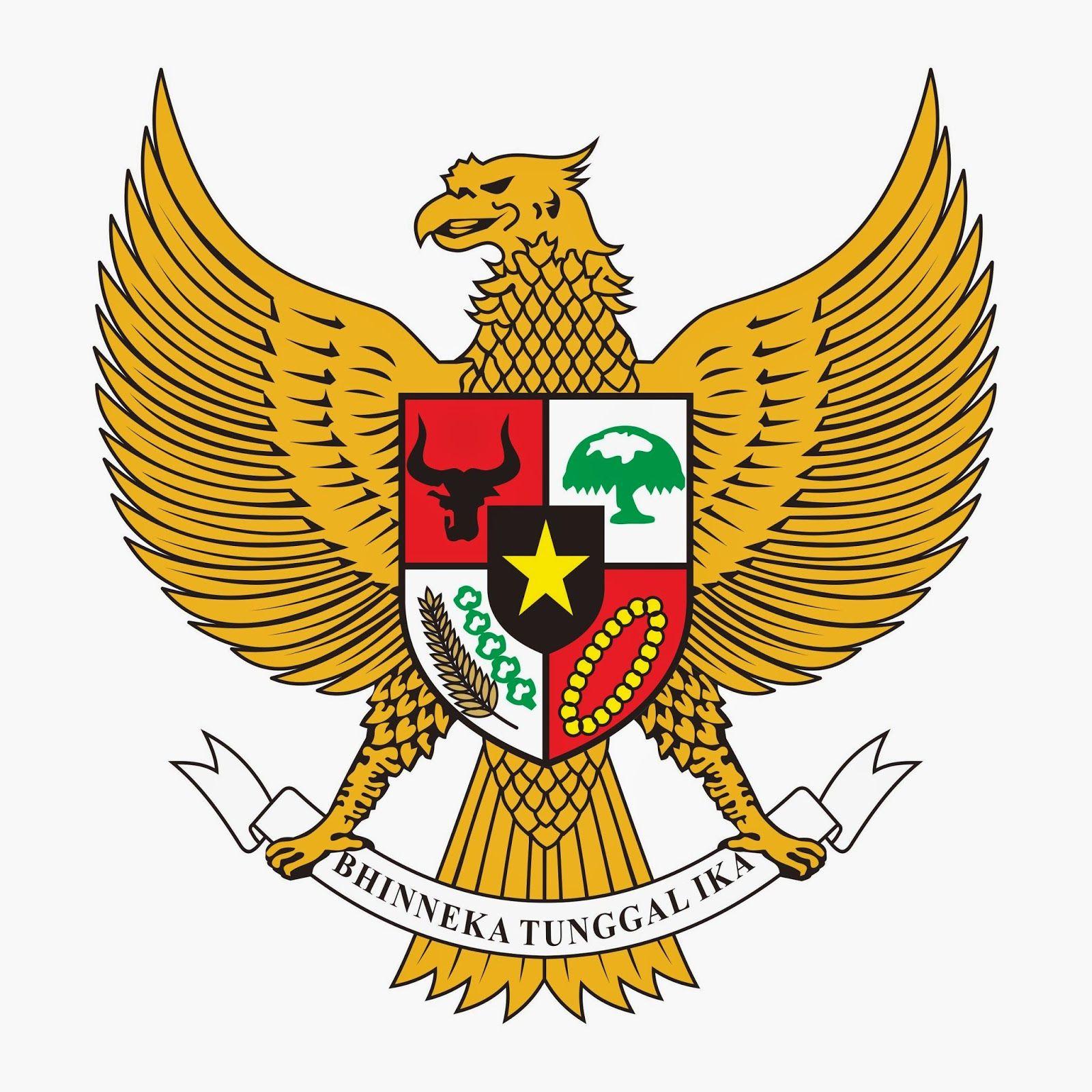 Garuda Pancasila Vector Digisories Lambang Negara Lencana