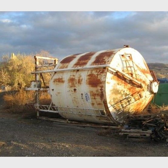 6000 Gallon Steel Conical Tank Gallon Steel Tank