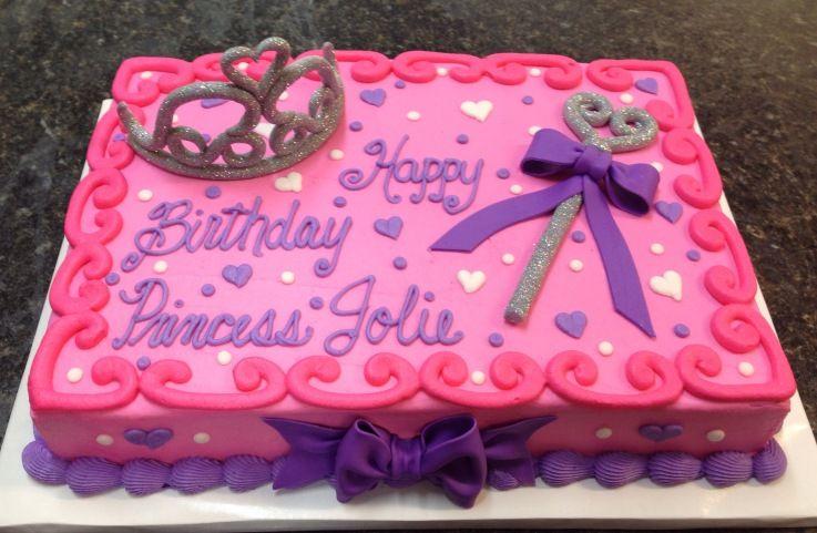 Princess Sheet Cake Ideas