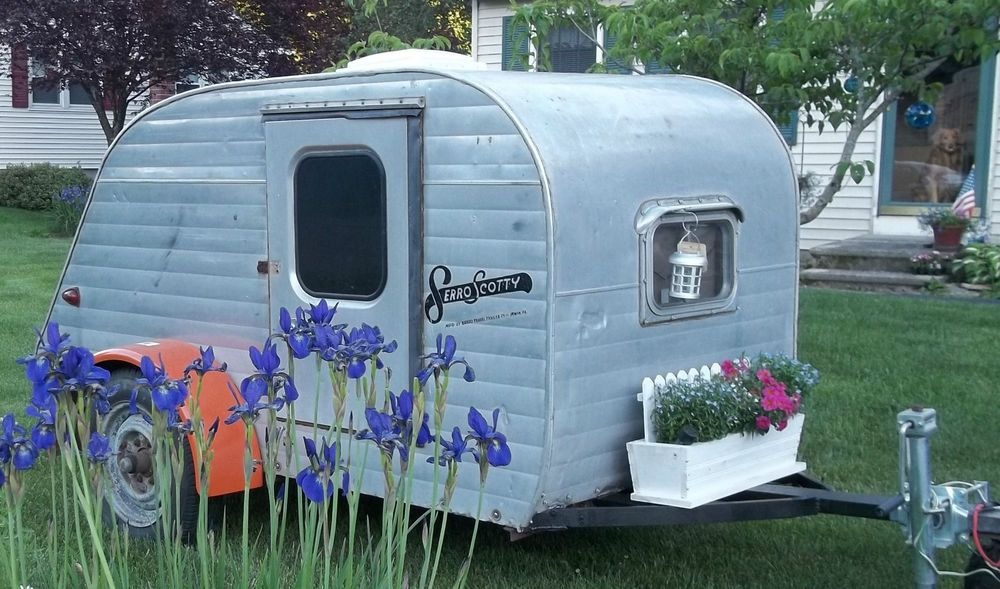 1957 Serro Scotty Teardrop CampersTeardrop TrailerVintage
