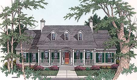 Classic Symmetry - 62018V | Cottage, Country, Traditional, 1st Floor Master Suite, CAD Available, Den-Office-Library-Study, PDF, Split Bedrooms, Corner Lot | Architectural Designs