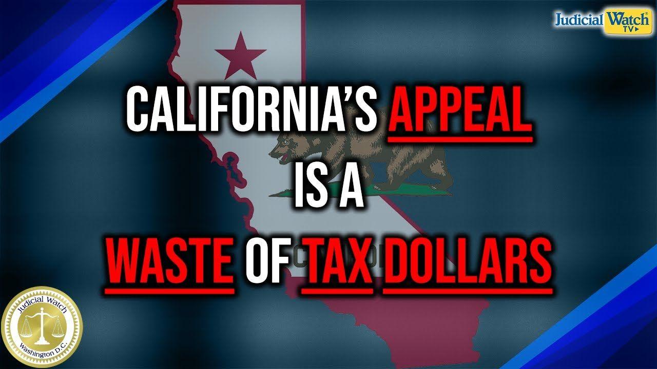 California S Appeal To Keep Unconstitutional Anti Trump Tax Return
