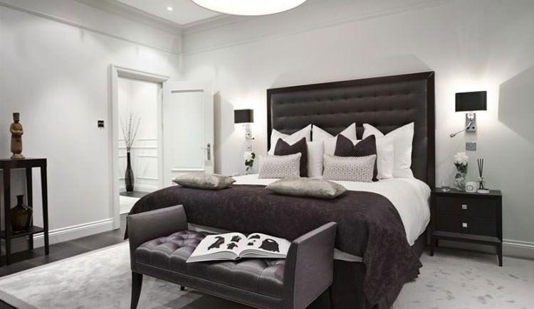 idee per arredare la camera da letto in bianco e nero n.04 ... - Arredare In Bianco E Nero