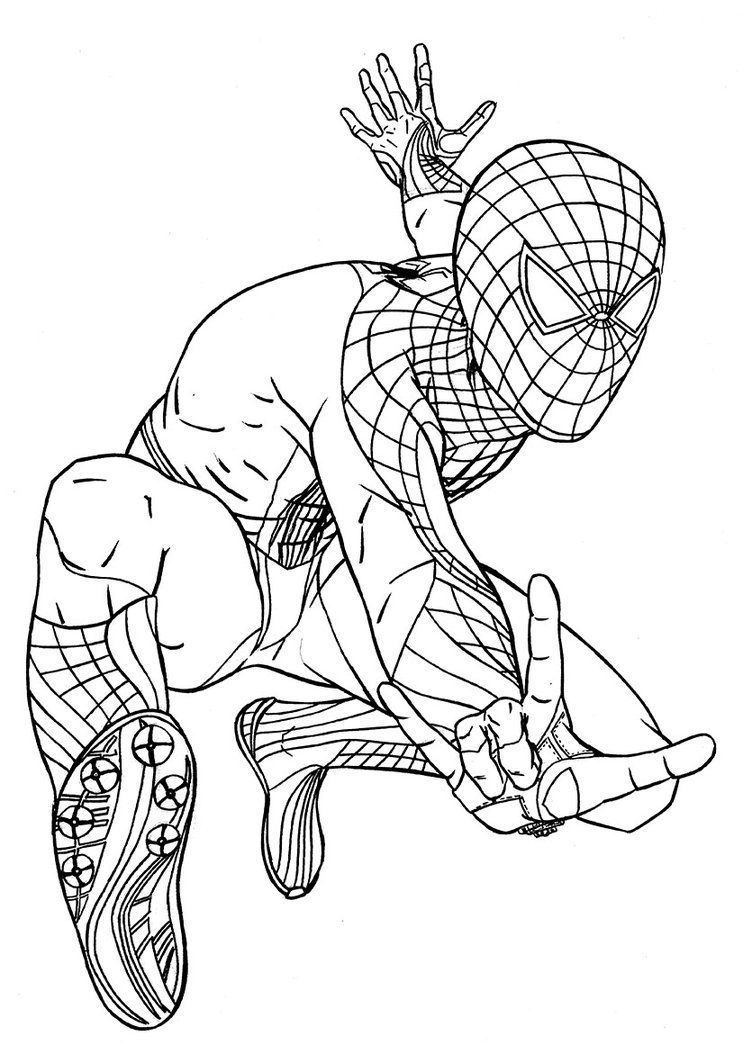 Free Printable Spiderman Coloring Pages For Kids Spiderman Coloring Superhero Coloring Pages Cartoon Coloring Pages