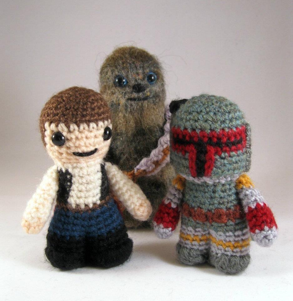 Star Wars Macramé Figures | Star Wars | Pinterest
