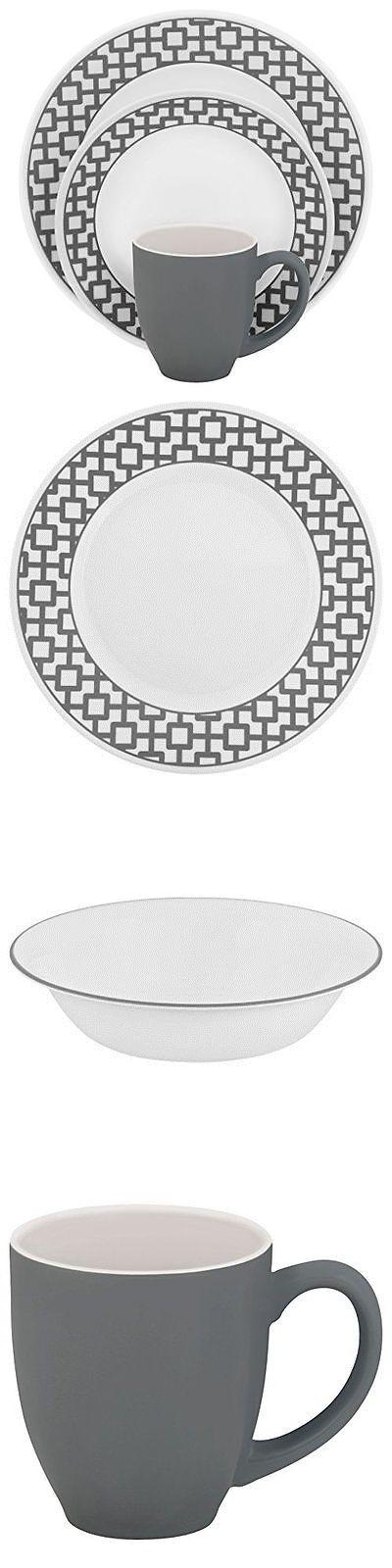 Dinner Service Sets 36032 Corelle Impressions 16 Piece Dinnerware