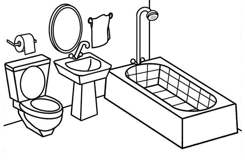 Bathroom Coloring And Activity Sheet Abstract Coloring Pages Coloring Pages Candy Coloring Pages