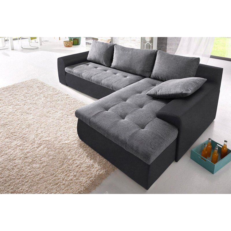Canapé d angle bimati¨re XL avec méri nne gauche droite