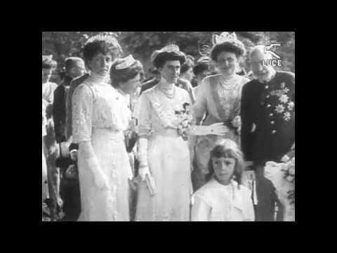 Wedding Emperor Charles I of Austria & Zita Hochzeit Kaiser Charles I von Österreich und Zita - YouTube