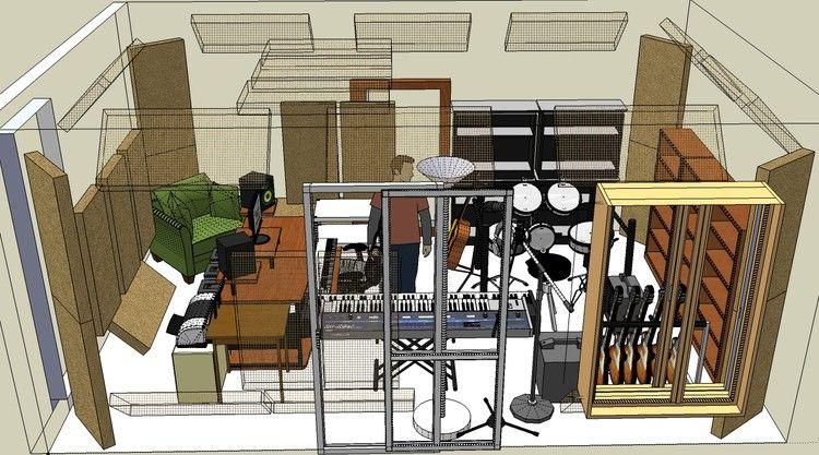 Emejing Home Recording Studio Design Plans Ideas Decorating