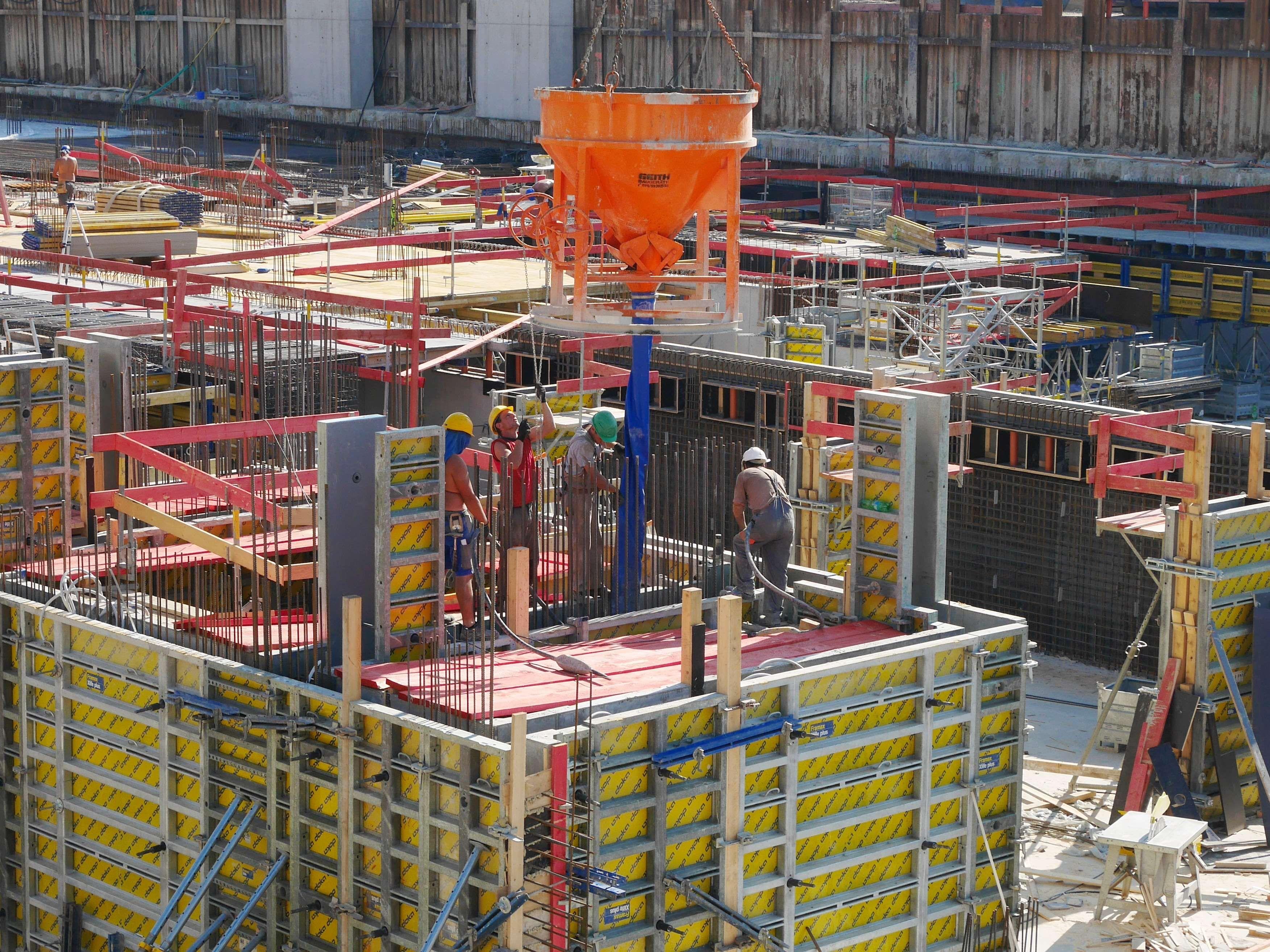 Building Construction Site Construction Workers Job Project