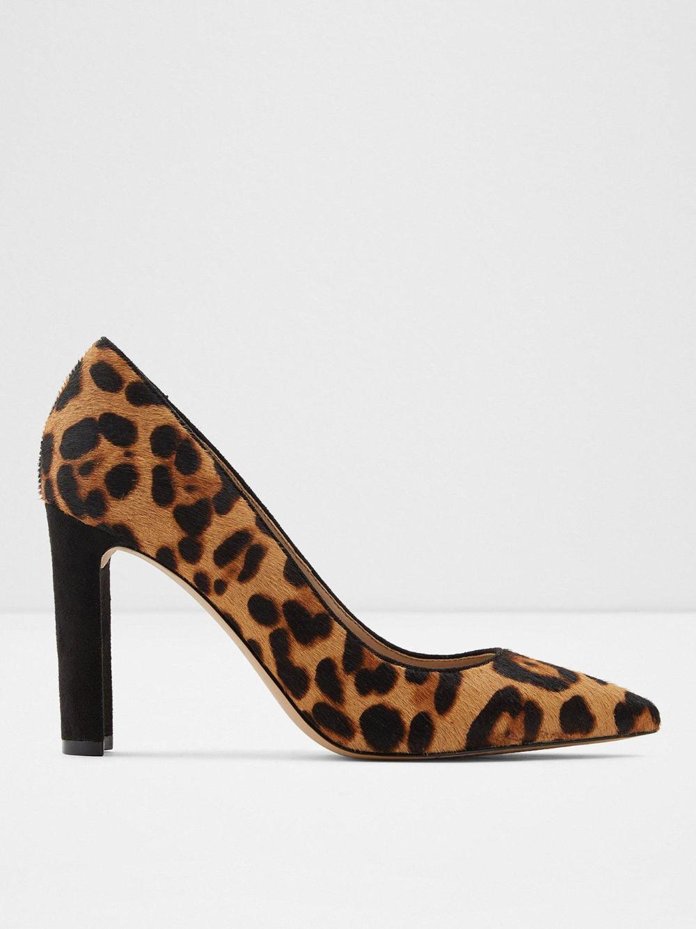Febriclya Leopard Court Shoes - Animal