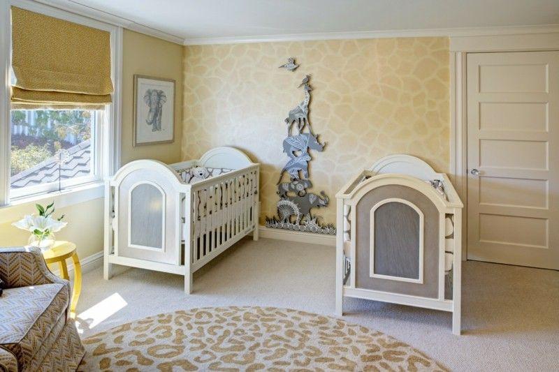 Kinderzimmer für Zwillinge einrichten Die besten Tipps