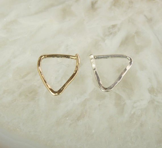 Septum Ring-14 kt goldfill or Sterling Silver nose ring-Nose Ring-lightweight  ring #nosering