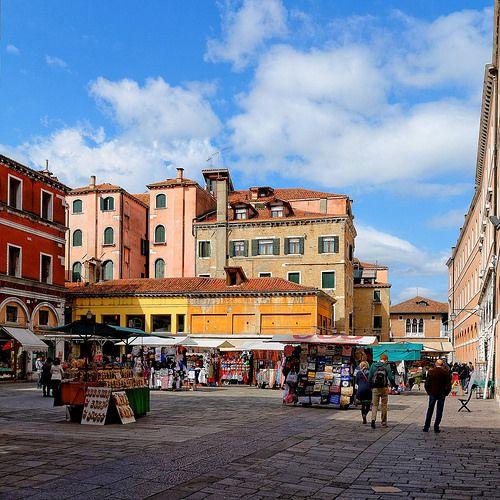 Venice Campo Cesare Battisti Già Della Bella Vienna Former Italy Travel Venice Travel Venice