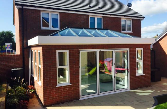 Amazing Van Home Ideas House Extension Design Flat Roof Extension Flat Roof