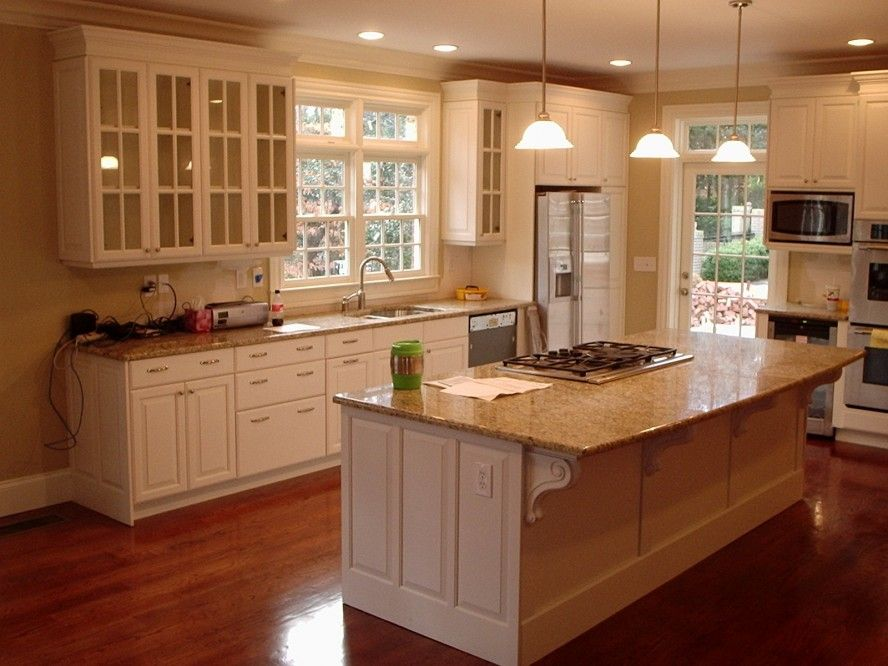 Colorful Kitchen Cabinets Pictures from Wooden Material: White ...