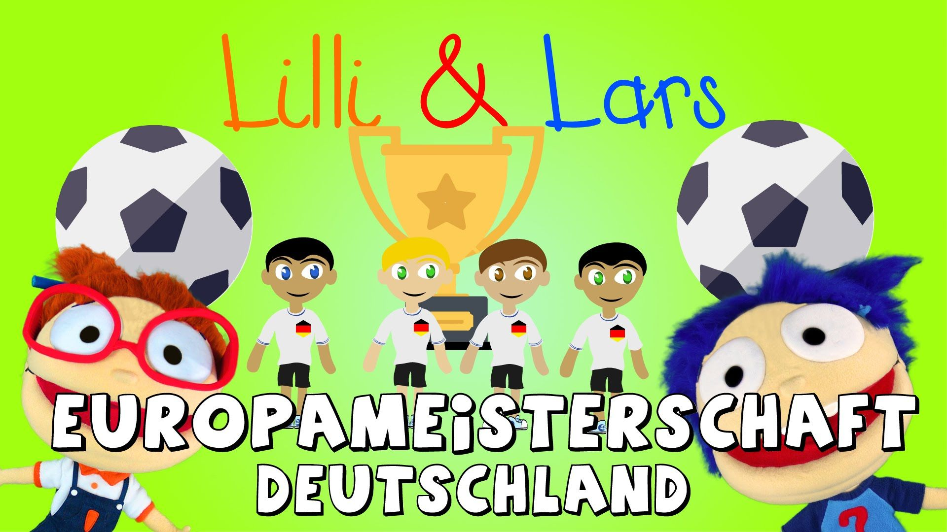 Fußball Europameisterschaft - DEUTSCHLAND wird EUROPAMEISTER IN FRANKREI...
