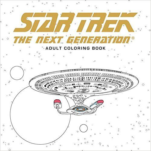 Star Trek: The Next Generation Adult Coloring Book: Amazon.de: CBS: Fremdsprachige Bücher