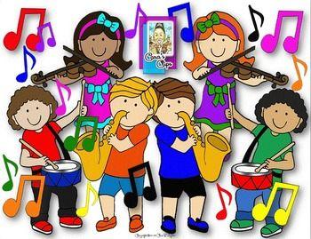 musical music animals clip art 2 clipartwiz music pinterest rh pinterest com Music Note Clip Art Music Graphics