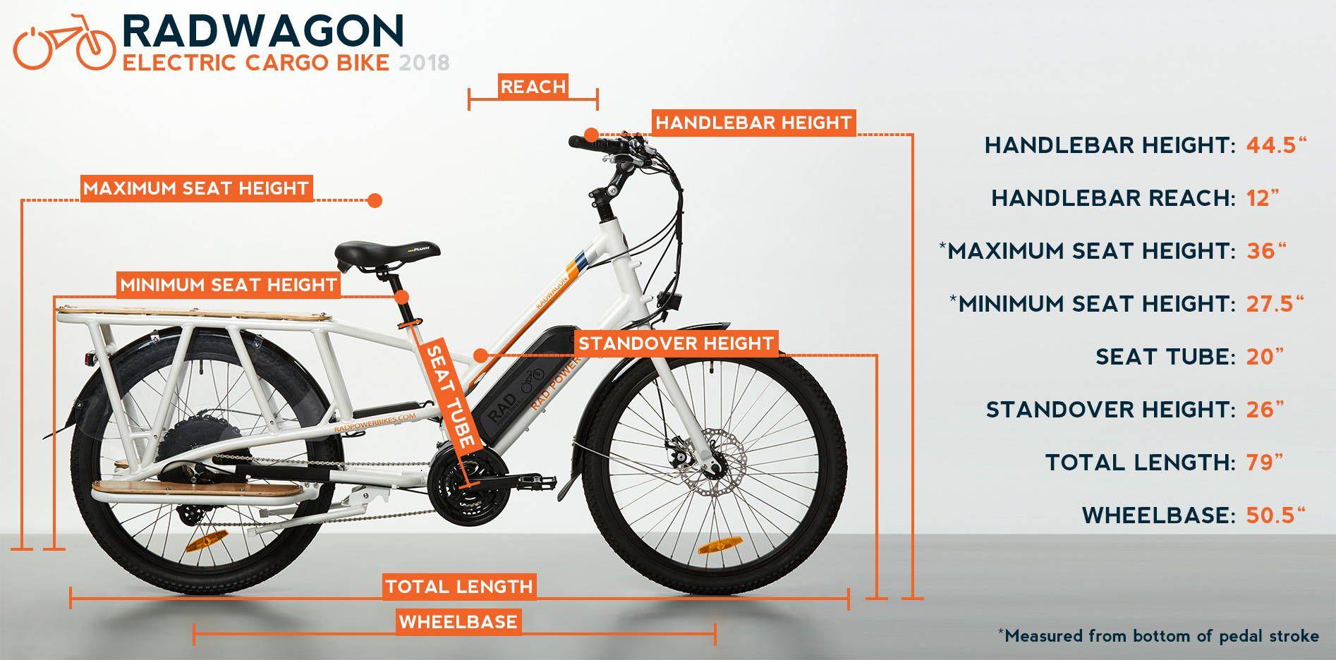 Radwagon Electric Cargo Bike Version 4 Electric Cargo Bike Cargo Bike Power Bike
