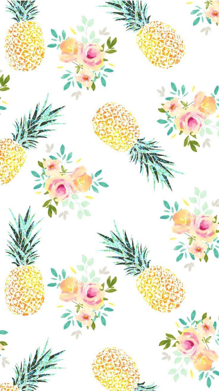 Summer Pineapple Wallpaper Wallpaper Iphone Cute Cute Summer Wallpapers