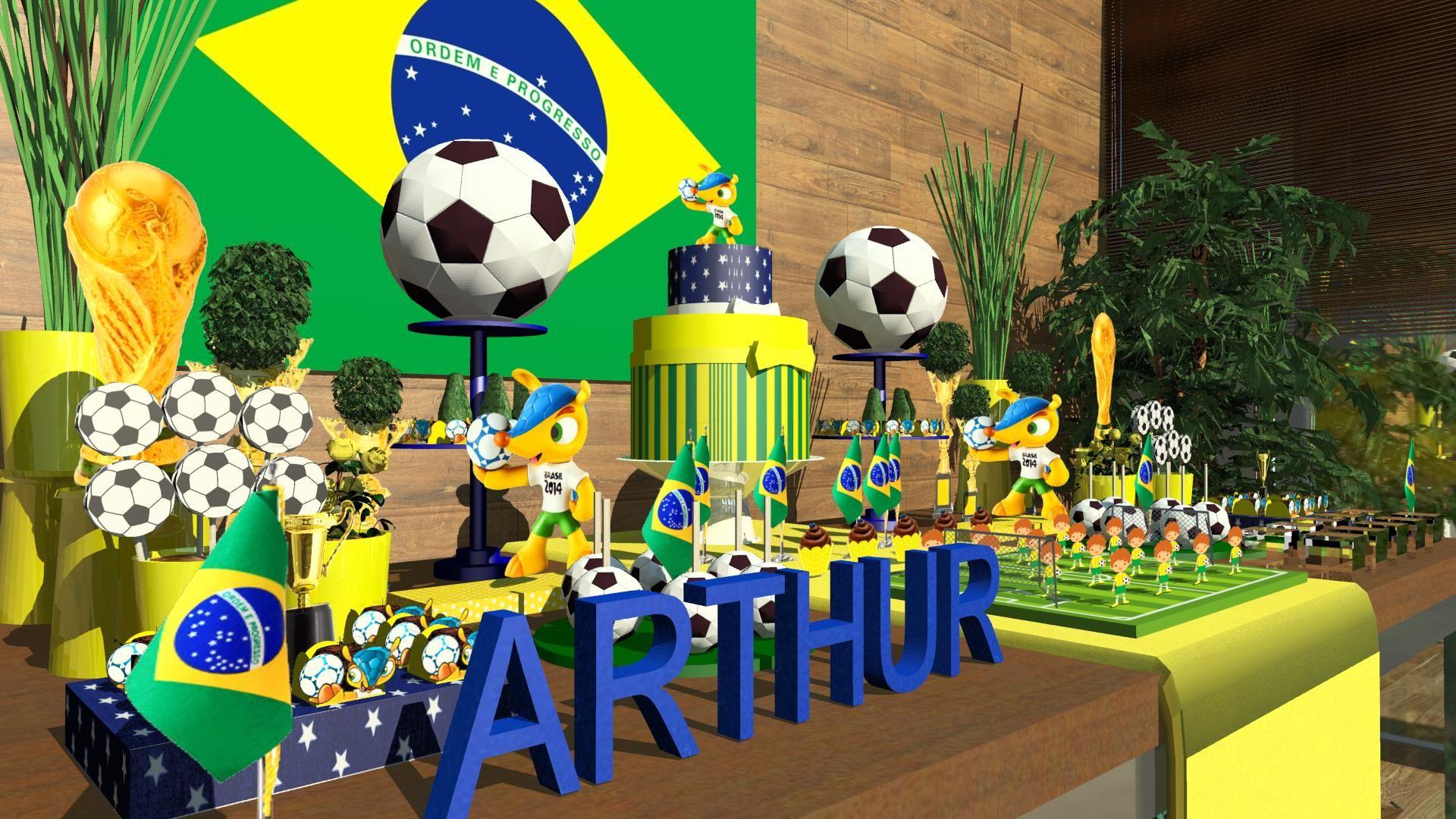 Imagen Relacionada Decoracao Festa Infantil Decoracao Copa Do
