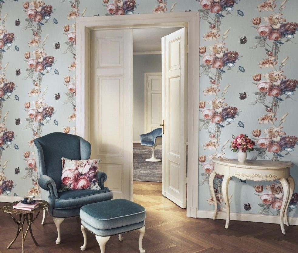 Tapete 527650 Rasch Barbara Home Collection Jetzt Vliestapete Entdecken Wohnzimmer Inspiration Haus Deko Tapeten