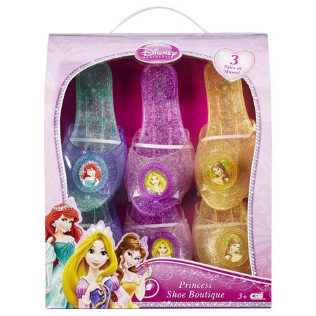 Disney Princess Shoe Boutique 3 Pack Shoes For Sale At