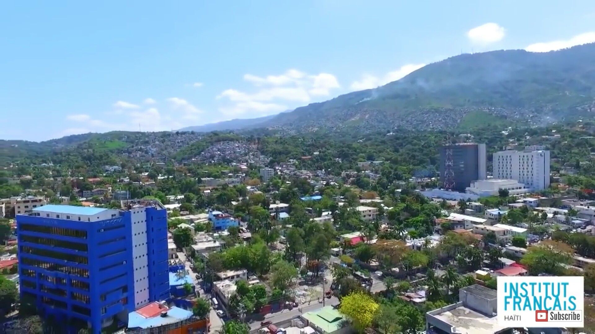 Port Au Prince Skyline Port Au Prince Haiti Port Au Prince Skyline