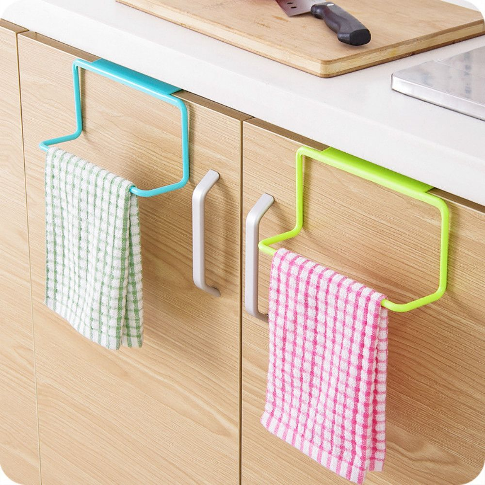 Over Door Tea Towel Rack Bar Hanging Holder Rail Organizer Bathroom Kitchen Cabinet Cup Kitchen Cabinets In Bathroom Kitchen Towels Hanging Kitchen Towel Rack