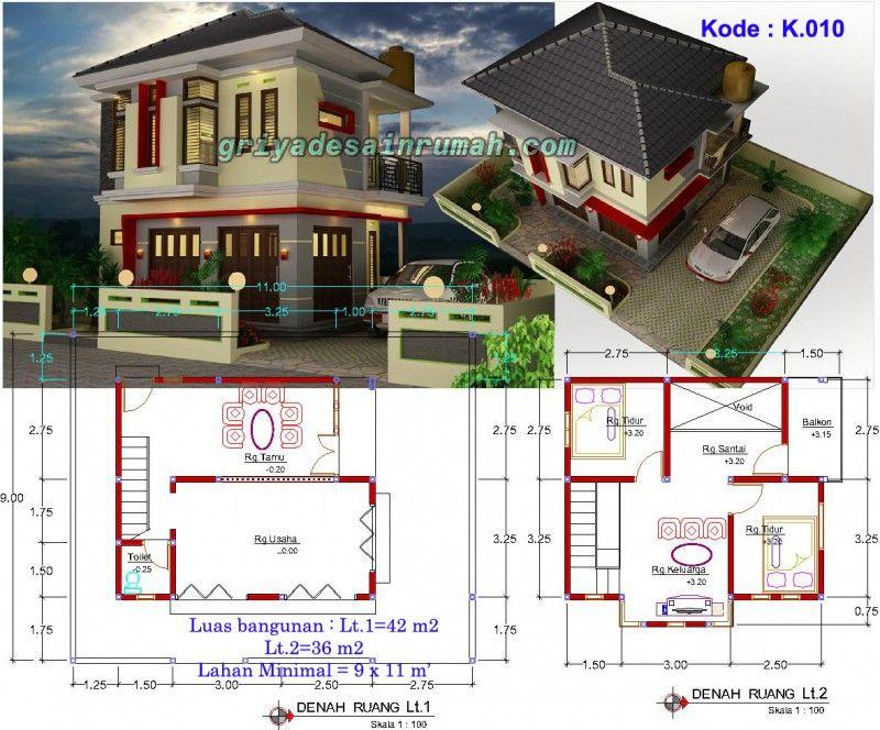 Denah Rumah Toko Mewah 2 Lantai Di Bandung Rumah Rumah Arsitektur Modern Kemewahan