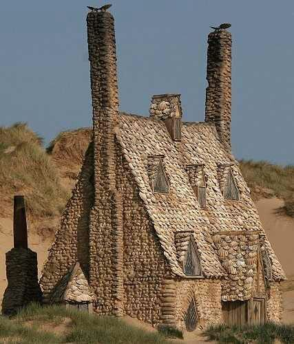 Shell Cottage On Freshwater West Beach In Pembrokeshire Wales In The Uk The Cottage Was Built Specifically For Cottages By The Sea Harry Potter Wiki Cottage