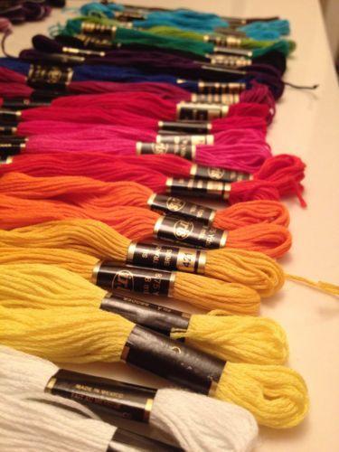 Friendship Bracelet Thread (Solid Colors)
