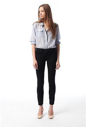 4e7c96372c0f1 Pants Denim Leggings, Black Leggings, Grey Boots, Crinkles, Black Denim,  Stretch