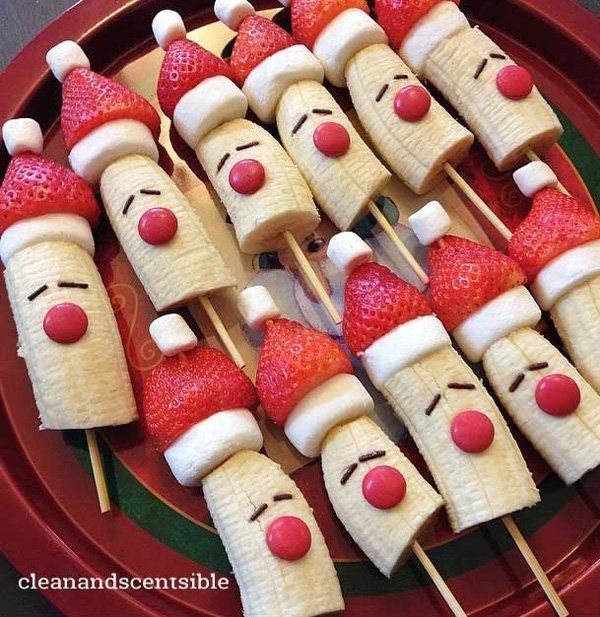 30 christmas food ideas marshmallow bananas and food ideas forumfinder Gallery