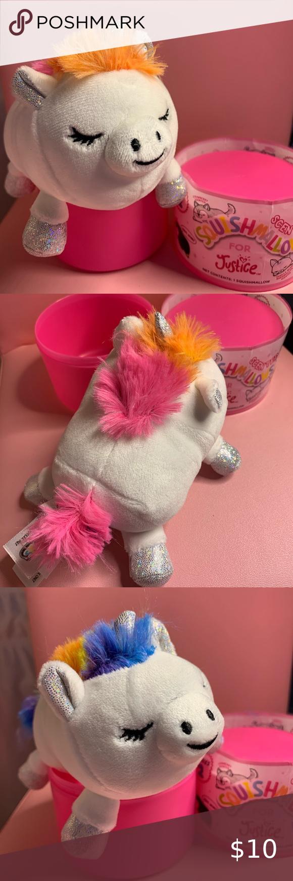 Aria Unicorn Capsule Squishmallow Plush Plush Capsule Pet Toys