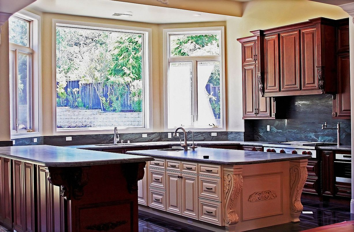 Staten Island Kitchen Cabinets All Wood Glazed Kitchen Cabinets Stylish Kitchen Kitchen Cabinets Pictures