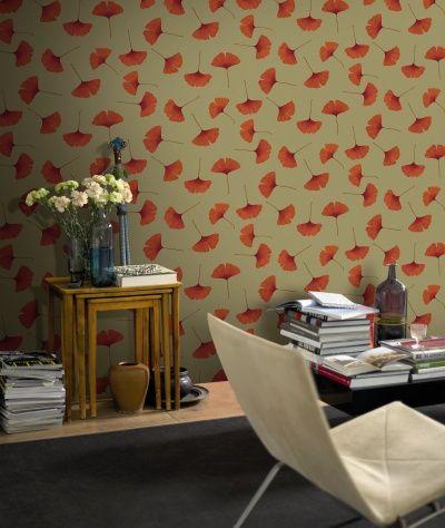 Marimekko Wallpaper, Biloba