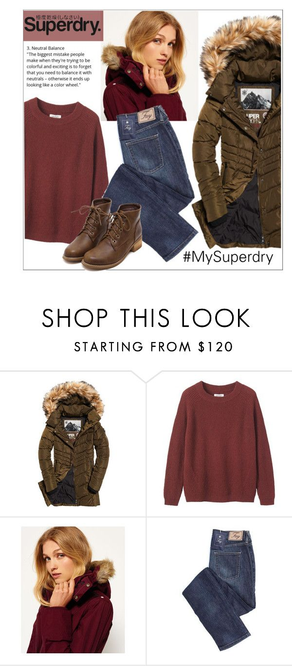 """""""The Cover Up – Jackets by Superdry: Contest Entry"""" by veronica7777 ❤ liked on Polyvore featuring Superdry, Toast and MySuperdry"""