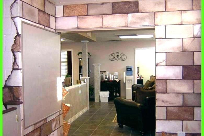 Painting Cinder Block Walls In Basement Stunning Concrete Wall Ideas Home Paint Cinder Block Walls Painting Basement Walls Concrete Block Walls