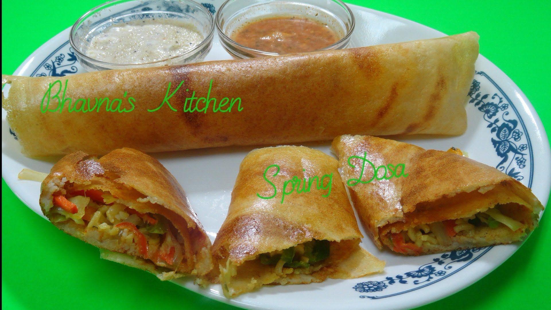 Spring dosa recipe video by bhavna gluten free vegan indian cuisine spring dosa recipe forumfinder Choice Image