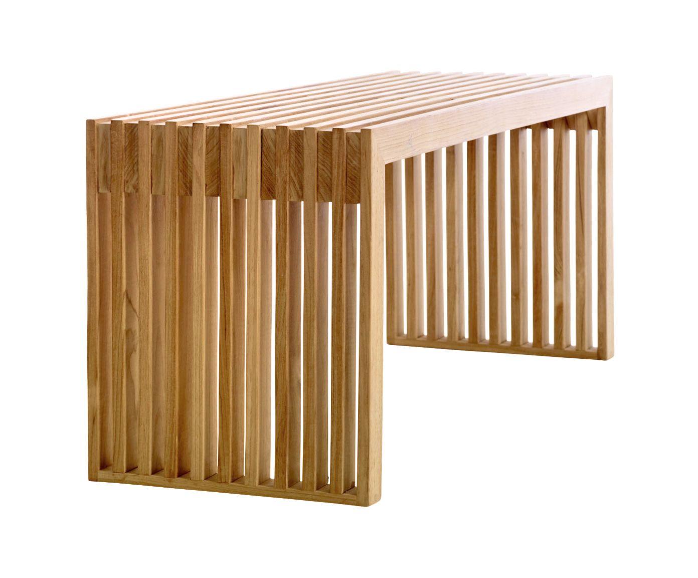 Teakholz Bank Rib In Modernem Design Westwingnow Teak Holz Teak Teakholz