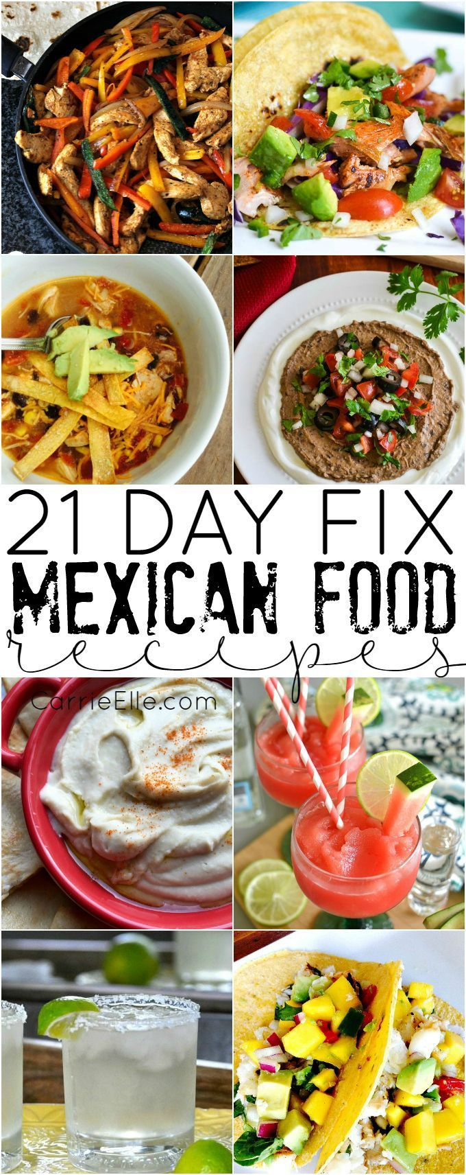 21 day fix mexican food recipes mxico 21 day fix mexican food recipes forumfinder Choice Image
