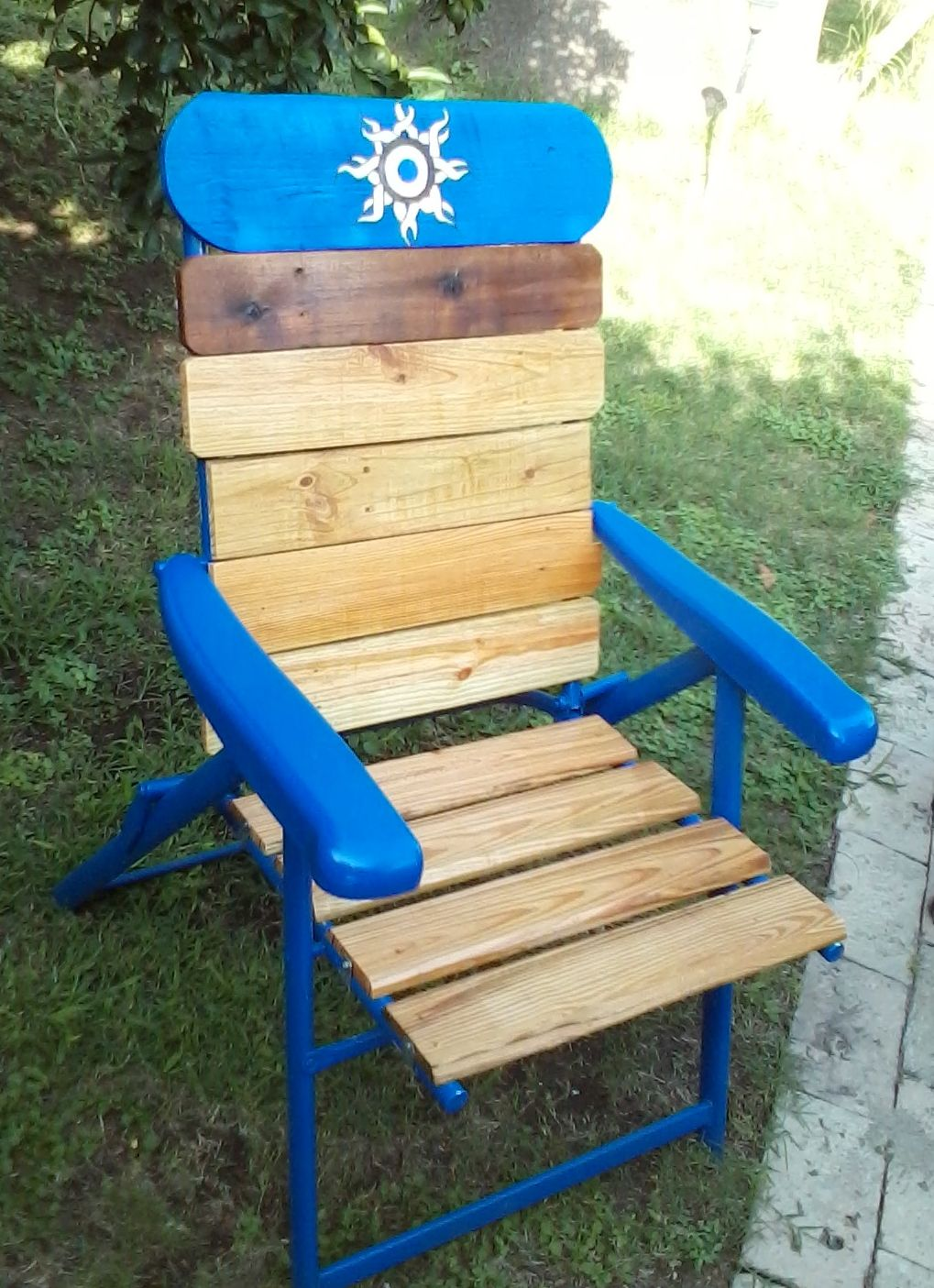 pallet lawn chair recycled pallets ideas projects pallet lawn rh pinterest co uk