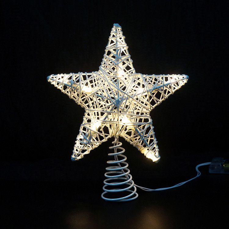 18L white cotton ball light chain led solar christmas ball light