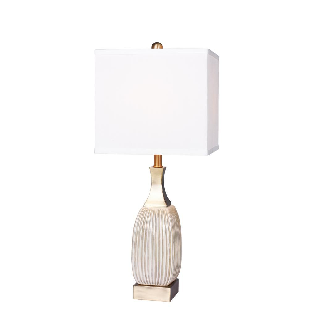 Ribbed Glass Table Lamp   west elm