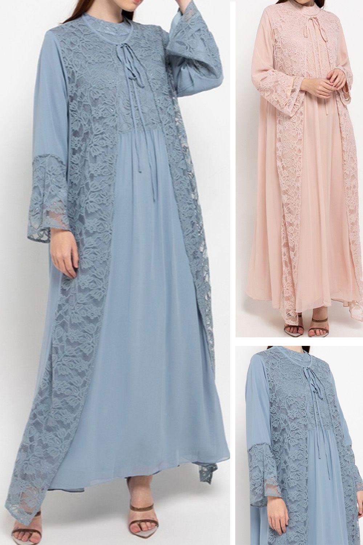 Kamilaa by Itang Yunasz Gamis Brokat di 9  Model baju wanita